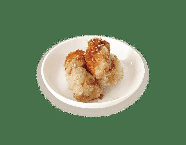 ソイカラ:Soy-Kara deep fried soy meat alternative