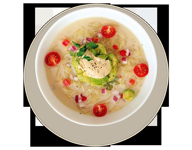 アボカド冷麺