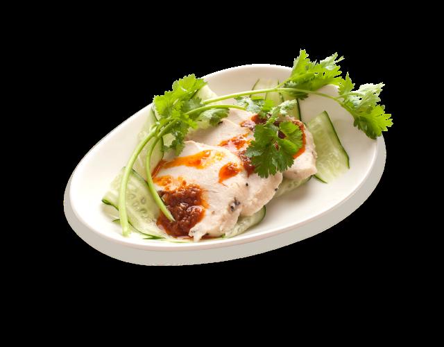 カオマンガイ風チキンサラダ